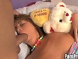 Sucking and fucking for sleeping slut
