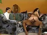 Teen Watching Interracial Steamy Anal