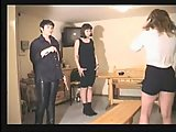 Teacher spanking naughty girls