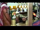 Girls Sucking A Stripper At A Party