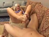 Hot blonde enjoys hardcore action