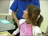 Hot chick hard rammed by teacher