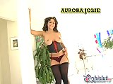 Aurora Jolie asshole drilled