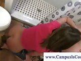 Horny campus girl wants cock