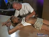 Lexi gets fucked on the table