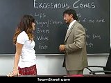 Innocent Asian schoolgirl Alliyah Sky banged