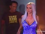 Nikki Benz sucks hard cock & fucks hard