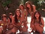 Asian wild girls in a bitch