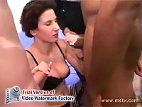 Homemade orgy with milf
