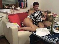 Homemade sex in all positions scene 1