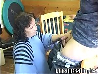 Busty mom adors anal fuck