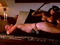 Horny vintage couple loves bondage affairs