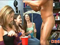 Striptease for college chicks