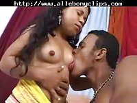 Midget Takes Big Ebony Dick