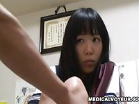 Spycam Schoolgirl Climax Massage scene 1