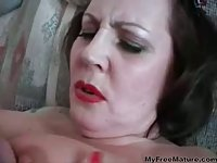 Incredibly Sexy Old Woman Fucked