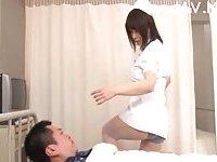 Titty Japanese nurse