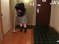 Busty Schoolgirl Gets Boobs Teased