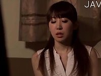 Japanese Babe Gets Fingered & Fucked