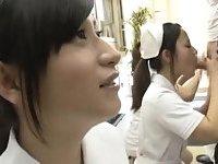 Nurses give head
