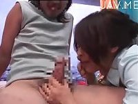 Ugly teen guy gets group sex 04