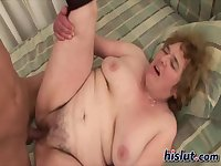 Dana is a horny grandma
