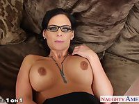 Excited wife in glasses Phoenix Marie fucking