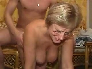 Titty Mom Gets Her Boobs & Twat Pounded at besttubeclips.com