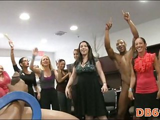 Mad girls are having crazy group sex
