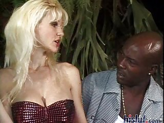 Allyson is up for interracial sex