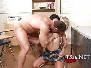 Pretty schoolgirl fucked scene 12