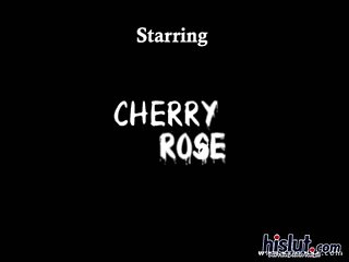 Cherry is an anal whore