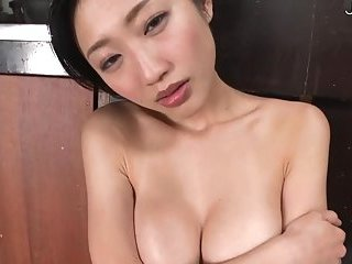 Japanese busty slut in white lingerie | Big Boobs Update