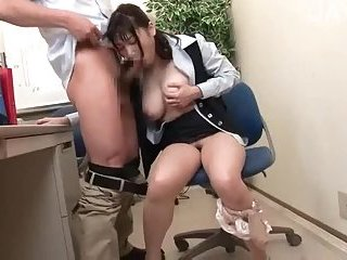 Busty japanese fucked in office | Big Boobs Update