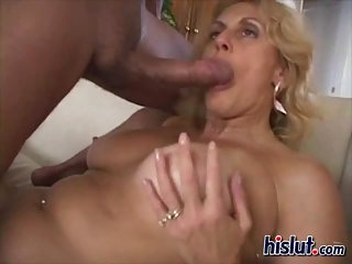Banged mature gets fucked
