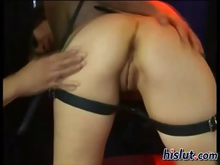 This slut got spanked