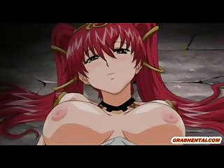 Bigboobs hentai gets tentacle worms hard drill all holes