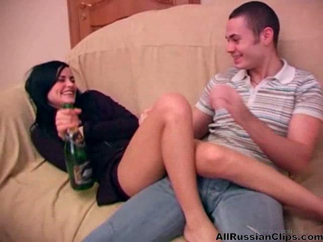 drunk russian anal